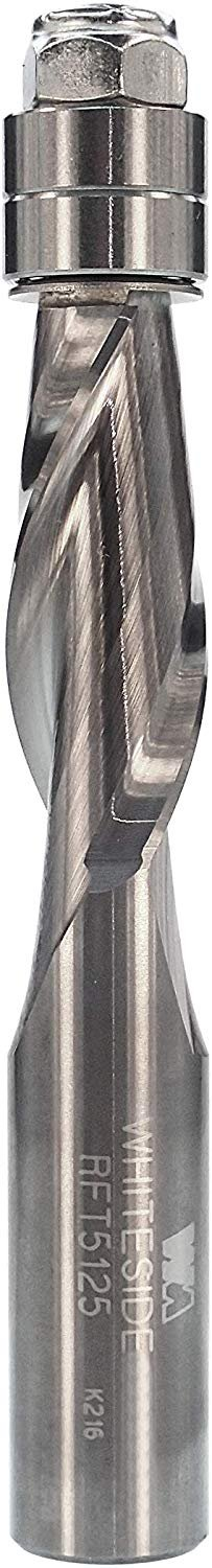 "Whiteside 1/2"" Diameter Spiral Flush Trim Up Cut (RFT5125)"