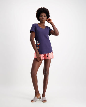 Dream Tee and Shorts Sleepwear set