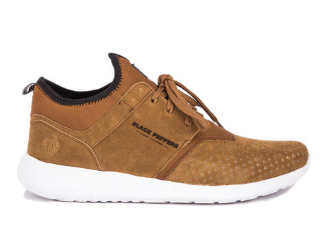 203-40 JOGGER NL CAMEL SUEDE