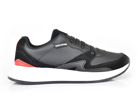 571-199 Traffic Black/Red Spr Trainer (dama)