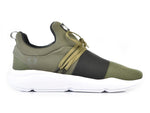 203-93 Jogger KR Military Green Black Lace (Dama)