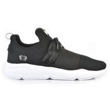 203-80 Jogger Black/Black Lace White Sole