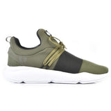 203-84 Jogger KR Military Green Black Lace