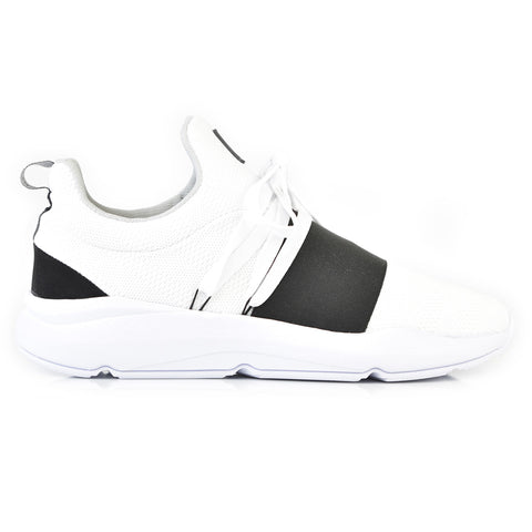 203-86 Jogger KR White Black Lace