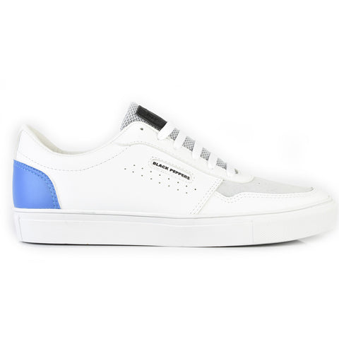 571-243 WP White Gray Tip Blue Heel