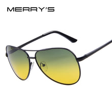 Load image into Gallery viewer, MERRY'S Men's Night Vision Driving Sunglasses 100% Polarized