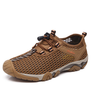 Breathable Mens Casual Shoes by Fashion