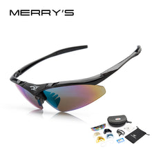 Load image into Gallery viewer, MERRY'S Men's Sunglasses UV400 5 lenses