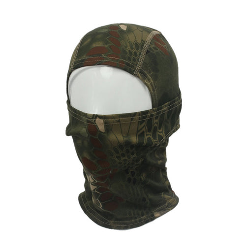 Men's Cotton Active Camouflage Full Face Mask