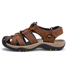 Load image into Gallery viewer, ALEADER 2018 Casual Beach Leather Sandals for Men
