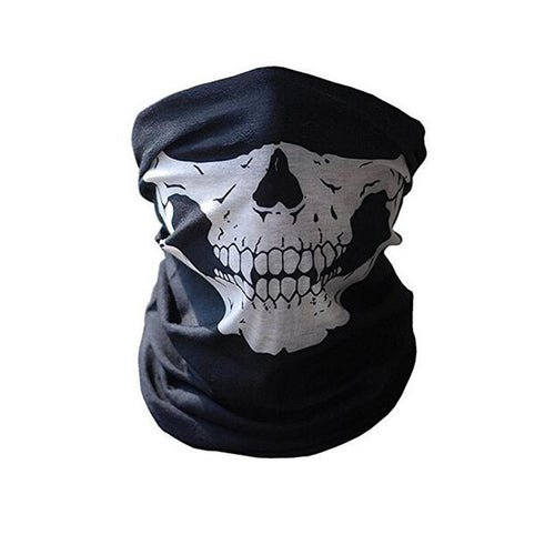 Half Skull Face Shield