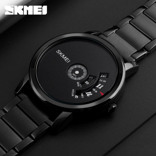 SKMEI Men's Quartz Full Steel Waterproof Military Sports