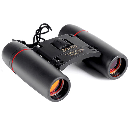 30x60 Folding Binoculars with Low Light Night Vision for outdoor bird watching travelling hunting camping 2018