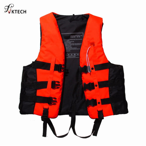 Adult Life Jacket with Whistle S-XXXL Sizes