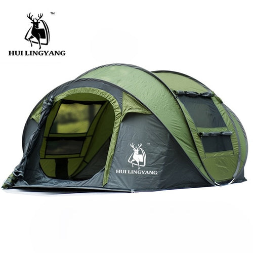 H.L. Automatic Open 3-4 Person Tent
