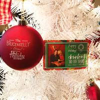 """Holiday Shindig"" Ornament & Song Package"