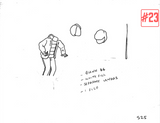 Astrodome Video Original Animation Sketches