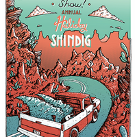 2016 Holiday Shindig Poster