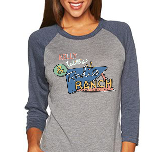 Kelly Willis & Radio Ranch Baseball Tee