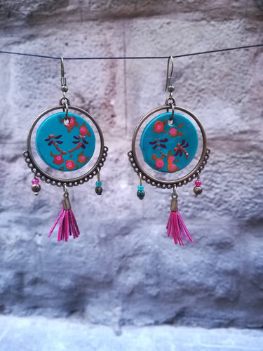 round earrings pendiente redondo