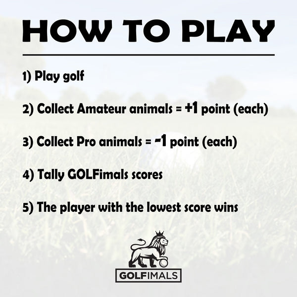 GOLFimals How To Play