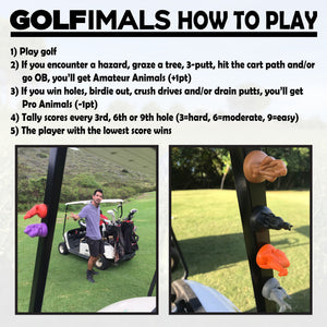 The GOLFimals Lion