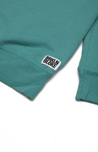 Classic Embroidered Sweatshirt - Spanish Moss Teal