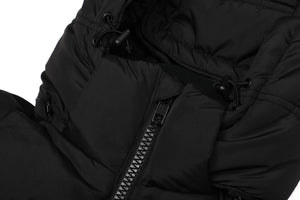 'SHIELD' LOGO PUFFER JACKET (BLACK)