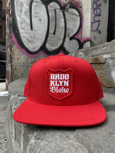 'Shield Snapback Hat (Red)
