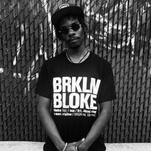 Load image into Gallery viewer, BRKLN BLOKE 'Classic' T-Shirt (Black)