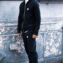 Load image into Gallery viewer, BRKLN BLOKE S / Combined Hoodie Set 'Shield' Joggers (Black)