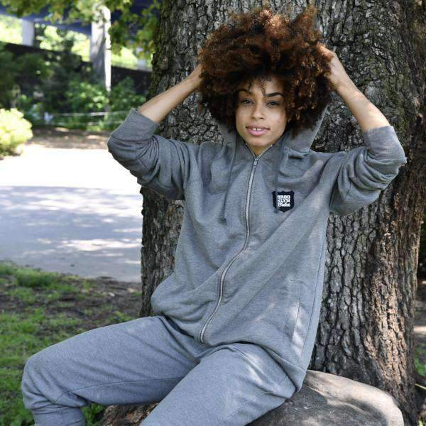 BRKLN BLOKE 'Shield' Sweatsuit (Grey) - BRKLN BLOKE