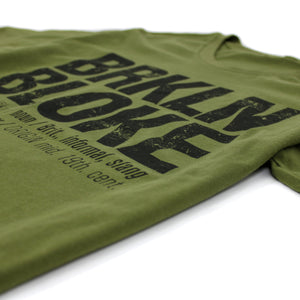 'Classic' T-Shirt (Army Green)