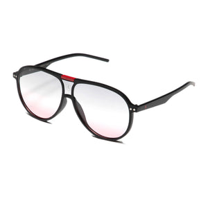 Iconic Aviator Sport Sunglasses (Red)