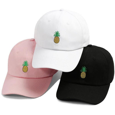 BigProStore Beach Fashion Mermaid Trucker Hat Pineapple Embroidery Baseball Cap Hat