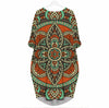 BigProStore Ethnic Floral 7 - Beautiful Woman 3D Pocket Dress S (4-6 US)(8 UK) Women Dress