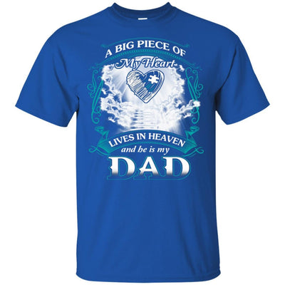 BigProStore Remembering Dad On His Death Anniversary Gift Missing Daddy T-Shirt G200 Gildan Ultra Cotton T-Shirt / Royal / S T-shirt