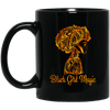 BigProStore Black Girl Magic Coffee Mug African Melanin Women Pro Girl Cup Design BM11OZ 11 oz. Black Mug / Black / One Size Coffee Mug