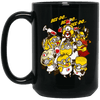 BigProStore Nurse Mug Cool Nurses Week Gifts For Nursing Students BM15OZ 15 oz. Black Mug / Black / One Size Coffee Mug