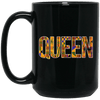 BigProStore Queen Coffee Mug Black Girl Magic Melanin Women Educated Black Queen BM15OZ 15 oz. Black Mug / Black / One Size Coffee Mug