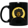 BigProStore Afro Pride Coffee Mug African American Cup Pro Black Women Men Design BM11OZ 11 oz. Black Mug / Black / One Size Coffee Mug