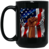 BigProStore African American Coffee Mug Designed For Melanin Women Men Pro Black BM15OZ 15 oz. Black Mug / Black / One Size Coffee Mug