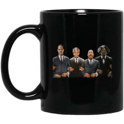 BigProStore Black History Coffee Mug African Cup Designed For Melanin Queen King BM11OZ 11 oz. Black Mug / Black / One Size Coffee Mug