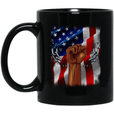 BigProStore African American Coffee Mug Designed For Melanin Women Men Pro Black BM11OZ 11 oz. Black Mug / Black / One Size Coffee Mug