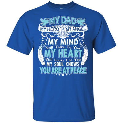 BigProStore My Dad In Heaven Poem I Love You Daddy T-Shirt Father's Day Gift Idea G200 Gildan Ultra Cotton T-Shirt / Royal / S T-shirt