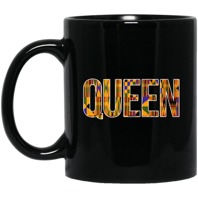 BigProStore Queen Coffee Mug Black Girl Magic Melanin Women Educated Black Queen BM11OZ 11 oz. Black Mug / Black / One Size Coffee Mug