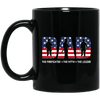 BigProStore Firefighter Mug Dad The Firefighter The Myth The Legend Firemen Gifts BM11OZ 11 oz. Black Mug / Black / One Size Coffee Mug