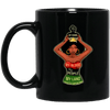 BigProStore My Crown My Blook My People My Land Mug African American Coffee Cup BM11OZ 11 oz. Black Mug / Black / One Size Coffee Mug