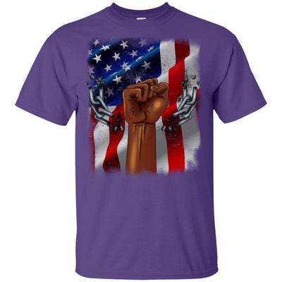 BigProStore African American Family Reunion T-Shirt Designs For Melanin Women Men G200 Gildan Ultra Cotton T-Shirt / Purple / S T-shirt