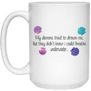 BigProStore Mermaid Mug My Demons Tried To Drown Me I Could Breathe Underwater Cup 21504 15 oz. White Mug / White / One Size Coffee Mug